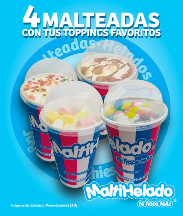 Maltihelado -Shakes x 4 Final